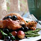 Chicken with Grape Sauce by MQPhotography