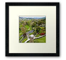 Ireland - View from Blarney Castle Framed Print