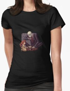 Slender Tea Time Womens Fitted T-Shirt