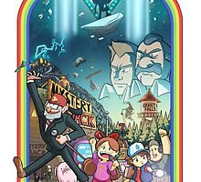 The Town Of Gravity Falls by SirOrin