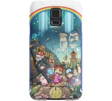 The Town Of Gravity Falls Samsung Galaxy Case/Skin