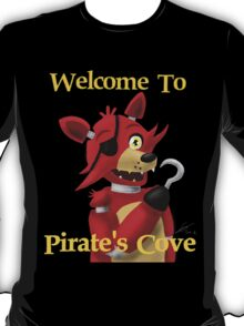 Welcome to Pirate's Cove (Black) T-Shirt