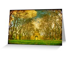 Royal Exhibition Building I Greeting Card