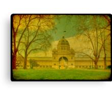 Royal Exhibition Building II Canvas Print