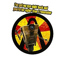 CLAPTRAP QUOTES Photographic Print