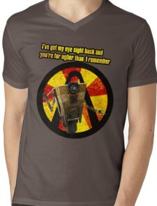 CLAPTRAP QUOTES Mens V-Neck T-Shirt