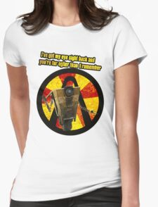 CLAPTRAP QUOTES Womens Fitted T-Shirt