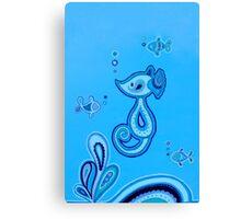 Sea Horsey Canvas Print