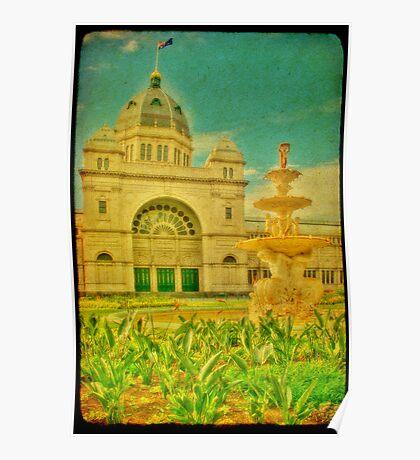 Royal Exhibition Building III Poster