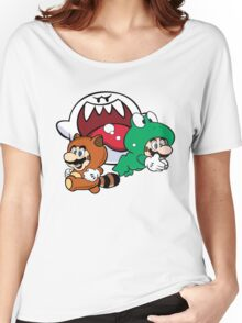 Mario outfits boo Women's Relaxed Fit T-Shirt