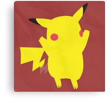 Pikachu (Simplistic)  Canvas Print