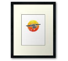 Constitution class Starship - light Framed Print