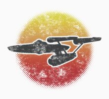 Constitution class Starship - light Kids Clothes