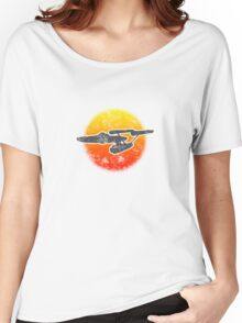 Constitution class Starship - light Women's Relaxed Fit T-Shirt