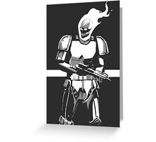 Ghost Rider Storm Trooper Greeting Card
