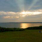 """""""Sunset at Beavertail"""" - Conanicut Island Series - © 2009 by Jack McCabe"""