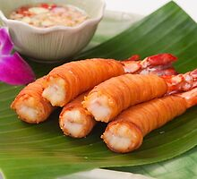 Thai Shrimp Dish by Dennis Pilapil
