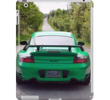 Going Green - Porsche iPad Case/Skin