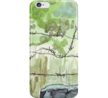 The fencepost iPhone Case/Skin
