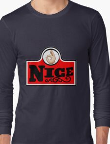 #nice Long Sleeve T-Shirt