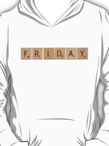 Wood Scrabble Friday! T-Shirt