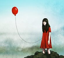 Red balloon by pixply