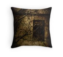 Anyone Home? Throw Pillow