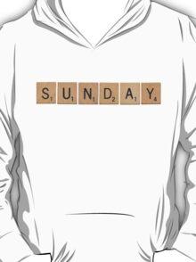 Wood Scrabble Sunday! T-Shirt