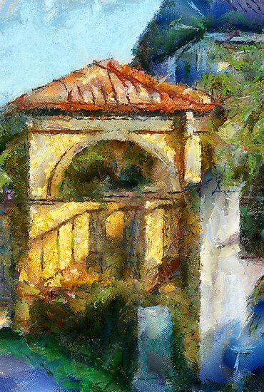 Gate house by Untamedart