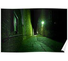 Dark Alley Ways Poster