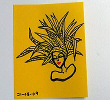 Tiny Diary: Head full of Flax by littlearty