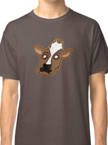 Cowering Cow Classic T-Shirt