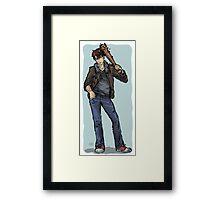 2p America Framed Print