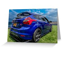 ST Ford Focus Greeting Card