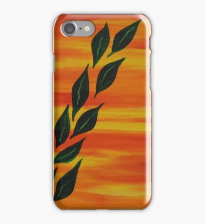 """Friendly Sunsets 7"" iPhone Case/Skin"