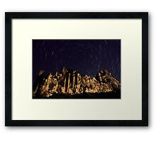 Night at the Cathedral Framed Print