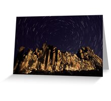 Night at the Cathedral Greeting Card