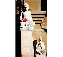Buddhas, Ubud, Bali Photographic Print