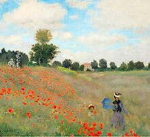 Monet Lurking Troops by chriswig