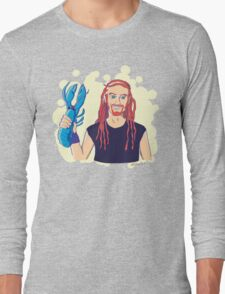 Pickles the Drummer Long Sleeve T-Shirt