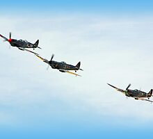Victory Flypast  by Colin  Williams Photography