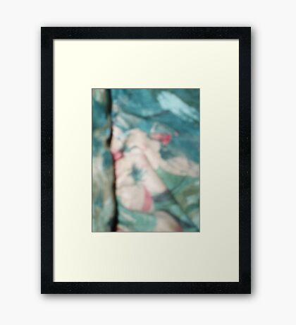Feeling Good. Framed Print