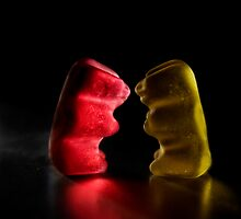 Gummy Bear Photography - On a Date by michalfanta