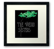 Weird Sisters Concert  Framed Print