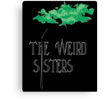 Weird Sisters Concert  Canvas Print