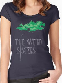 Weird Sisters Concert  Women's Fitted Scoop T-Shirt
