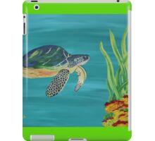 The turtle - Underwater series 1 iPad Case/Skin