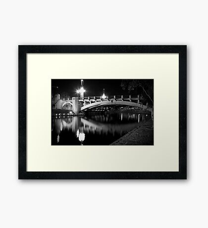 King William Street Bridge Framed Print