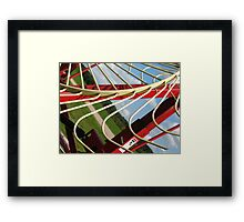 Gone Haywire Framed Print