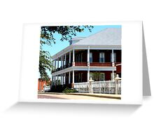 Armour Swift Headquarters, Fort Worth Stockyards Greeting Card